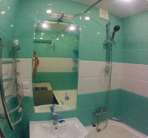 Ремонт ванной без дизайн-проекта 2